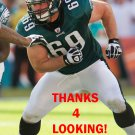 EVAN MATHIS 2013 PHILADELPHIA EAGLES FOOTBALL CARD