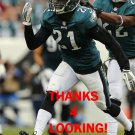 ROC CARMICHAEL 2013 PHILADELPHIA EAGLES FOOTBALL CARD
