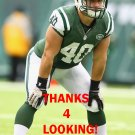 TOMMY BOHANON 2013 NEW YORK JETS FOOTBALL CARD