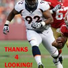 SYLVESTER WILLIAMS 2013 DENVER BRONCOS FOOTBALL CARD