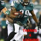 MATTHEW TUCKER 2013 PHILADELPHIA EAGLES FOOTBALL CARD