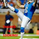 SAM MARTIN 2013 DETROIT LIONS FOOTBALL CARD