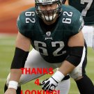 JASON KELCE 2013 PHILADELPHIA EAGLES FOOTBALL CARD