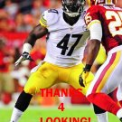 BRIAN ROLLE 2013 PITTSBURGH STEELERS FOOTBALL CARD