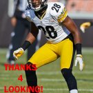 CORTEZ ALLEN 2013 PITTSBURGH STEELERS FOOTBALL CARD