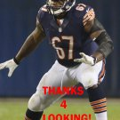 JORDAN MILLS 2013 CHICAGO BEARS FOOTBALL CARD
