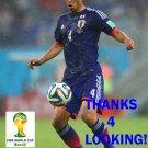 KEISUKE HONDA JAPAN 2014 FIFA WORLD CUP CARD