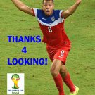 JOHN BROOKS USA 2014 FIFA WORLD CUP CARD