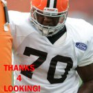CHRIS FAULK 2013 CLEVELAND BROWNS FOOTBALL CARD