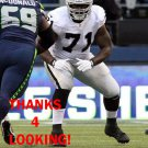 MENELIK WATSON 2013 OAKLAND RAIDERS FOOTBALL CARD