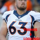 BEN GARLAND 2013 DENVER BRONCOS FOOTBALL CARD