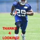 THOMAS GORDON 2014 NEW YORK GIANTS FOOTBALL CARD