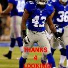 C.J. BARNETT 2014 NEW YORK GIANTS FOOTBALL CARD