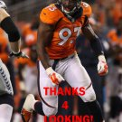QUANTERUS SMITH 2014 DENVER BRONCOS FOOTBALL CARD