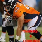 BEN GARLAND 2014 DENVER BRONCOS FOOTBALL CARD