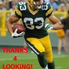 JEFF JANIS 2014 GREEN BAY PACKERS FOOTBALL CARD