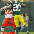 JUMAL ROLLE 2014 GREEN BAY PACKERS FOOTBALL CARD