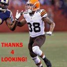 AARON BERRY 2014 CLEVELAND BROWNS FOOTBALL CARD