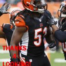 JAYSON DiMANCHE 2014 CINCINNATI BENGALS FOOTBALL CARD