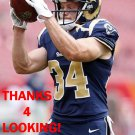 CHASE REYNOLDS 2014 ST. LOUIS RAMS FOOTBALL CARD