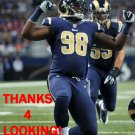 KENDALL LANGFORD 2014 ST. LOUIS RAMS FOOTBALL CARD