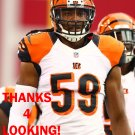 EMMANUEL LAMUR 2014 CINCINNATI BENGALS FOOTBALL CARD