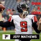 JEFF MATHEWS 2014 ATLANTA FALCONS FOOTBALL CARD