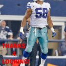JACK CRAWFORD 2014 DALLAS COWBOYS FOOTBALL CARD