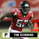 TIM DOBBINS 2014 ATLANTA FALCONS FOOTBALL CARD