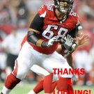 GABE CARIMI 2014 ATLANTA FALCONS FOOTBALL CARD