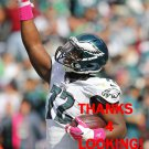 CEDRIC THORNTON 2014 PHILADELPHIA EAGLES FOOTBALL CARD