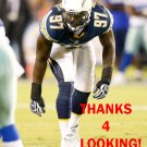 JERRY ATTAOCHU 2014 SAN DIEGO CHARGERS FOOTBALL CARD