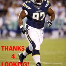 RYAN CARRETHERS 2014 SAN DIEGO CHARGERS FOOTBALL CARD
