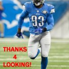GEORGE JOHNSON 2014 DETROIT LIONS FOOTBALL CARD