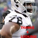 JUSTIN ELLIS 2014 OAKLAND RAIDERS FOOTBALL CARD
