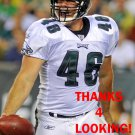 JON DORENBOS 2014 PHILADELPHIA EAGLES FOOTBALL CARD