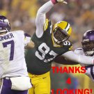LUTHER ROBINSON 2014 GREEN BAY PACKERS FOOTBALL CARD