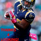 TREY WATTS 2014 ST. LOUIS RAMS FOOTBALL CARD