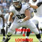DAVID MOLK 2014 PHILADELPHIA EAGLES FOOTBALL CARD