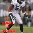 EMMANUEL ACHO 2014 PHILADELPHIA EAGLES FOOTBALL CARD