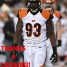 WILL CLARKE 2014 CINCINNATI BENGALS FOOTBALL CARD