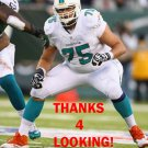 NATE GARNER 2014 MIAMI DOLPHINS FOOTBALL CARD