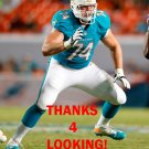 JASON FOX 2014 MIAMI DOLPHINS FOOTBALL CARD