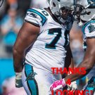 TRAI TURNER 2014 CAROLINA PANTHERS FOOTBALL CARD