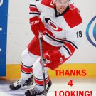 JAY McCLEMENT 2014-15 CAROLINA HURRICANES HOCKEY CARD