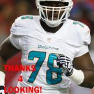 TERRENCE FEDE 2014 MIAMI DOLPHINS FOOTBALL CARD