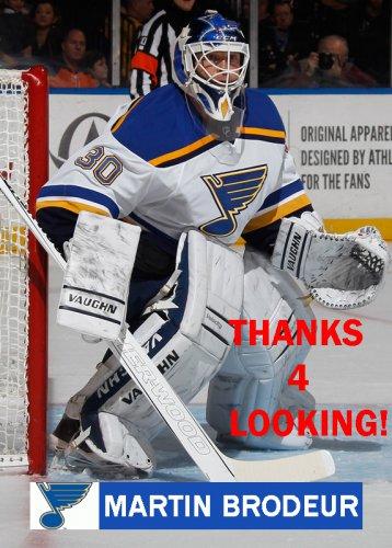 Martin Brodeur 2014 15 St Louis Blues Hockey Card