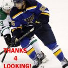 BRENT REGNER 2014-15 ST. LOUIS BLUES HOCKEY CARD