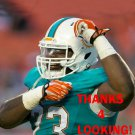 KAMAL JOHNSON 2014 MIAMI DOLPHINS FOOTBALL CARD