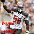 JACQUIES SMITH 2014 TAMPA BAY BUCCANEERS FOOTBALL CARD